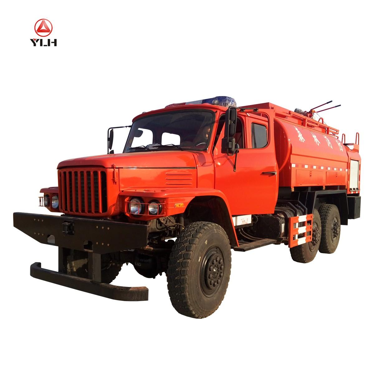 10m3 hors route 6x6 camion citerne de lutte contre l'incendie
