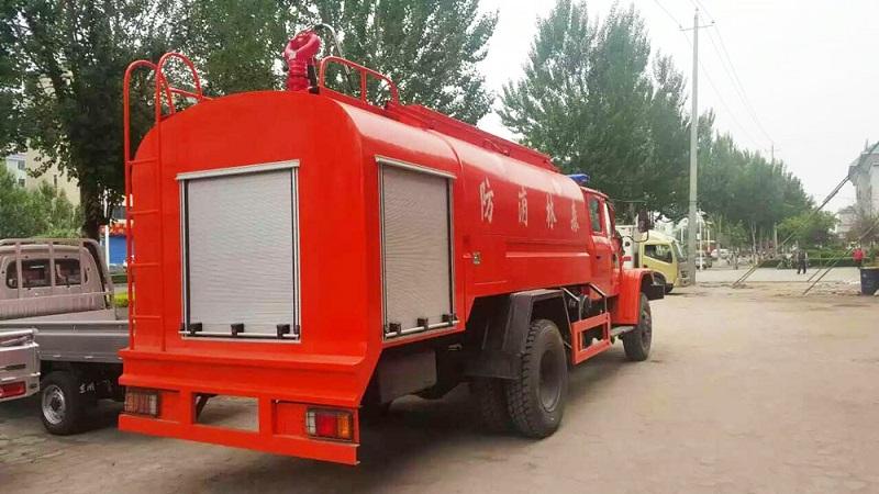6x6 fire fighting tank truck