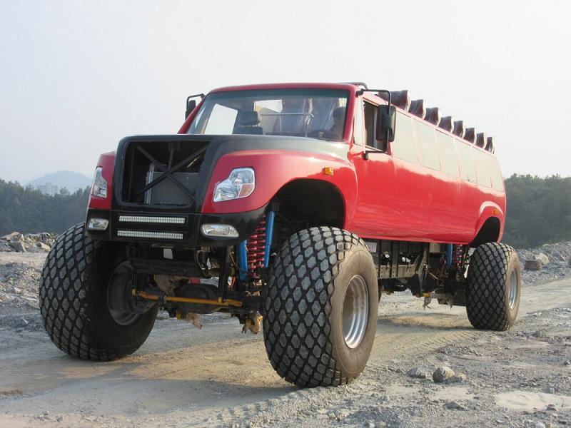 6x6 cross-country vehicle