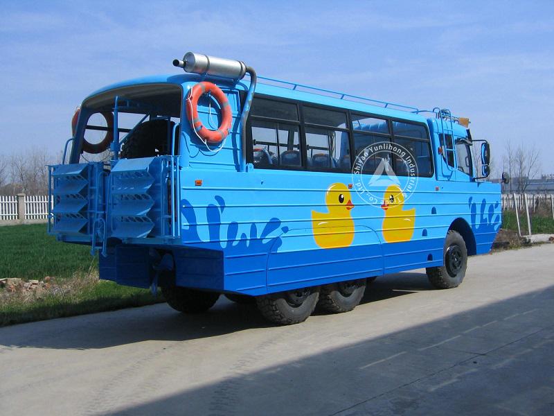 190hp amphibious rescue vehicle