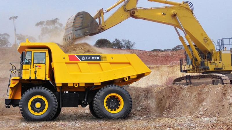 45 ton mining tipper