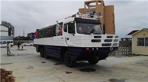 Amphibious truck project