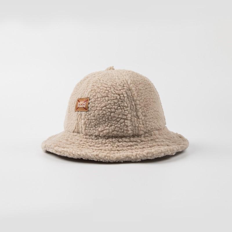 Soft Fleece Warm Girls Bucket Hat