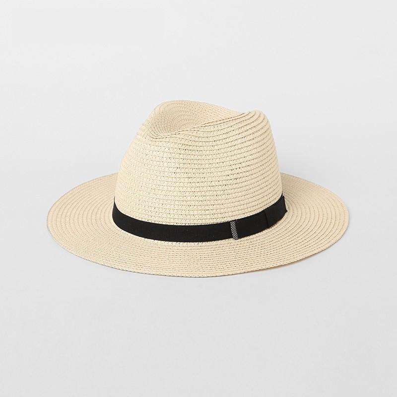 Klasik Erkek Plaj Hasır Şapka