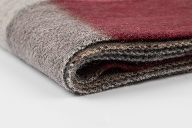 wool woven scarf