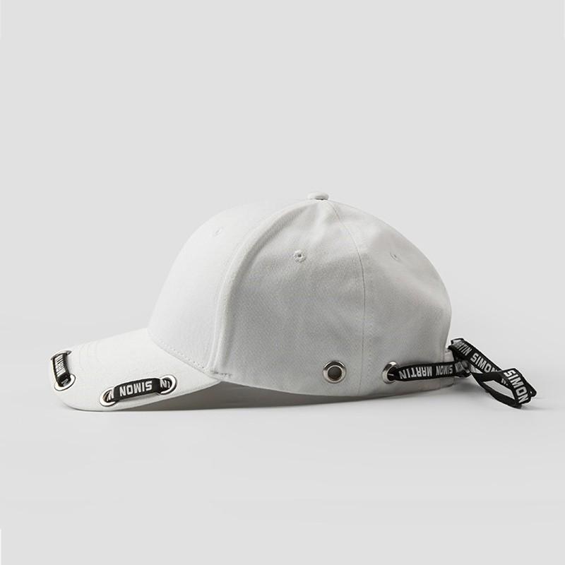 Trendy Beyzbol şapkası ile Baskılı Kurdele