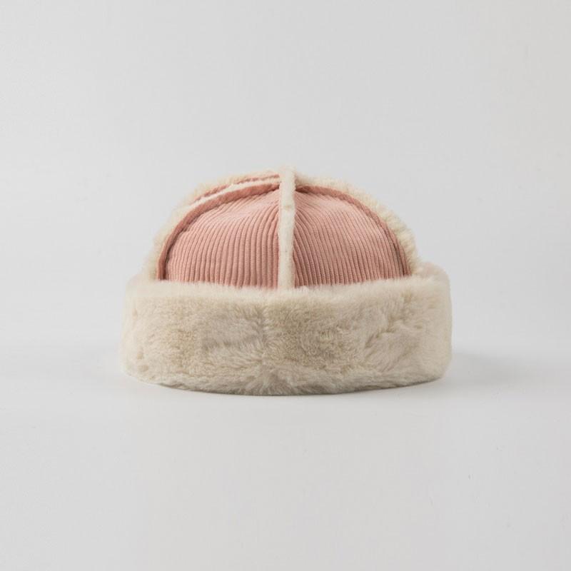 Fur Binding Cute Miki Hat