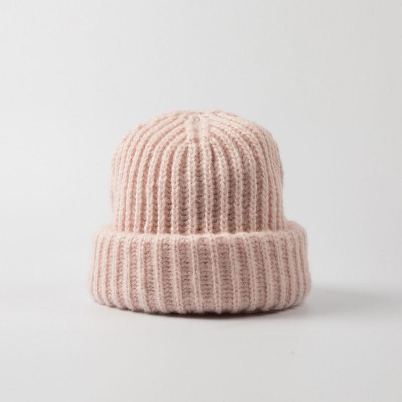 Fashion Wide Brim Kids Knit Hat