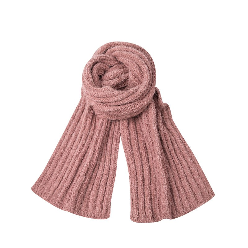Chunky Winter Cable Knitted Scarf
