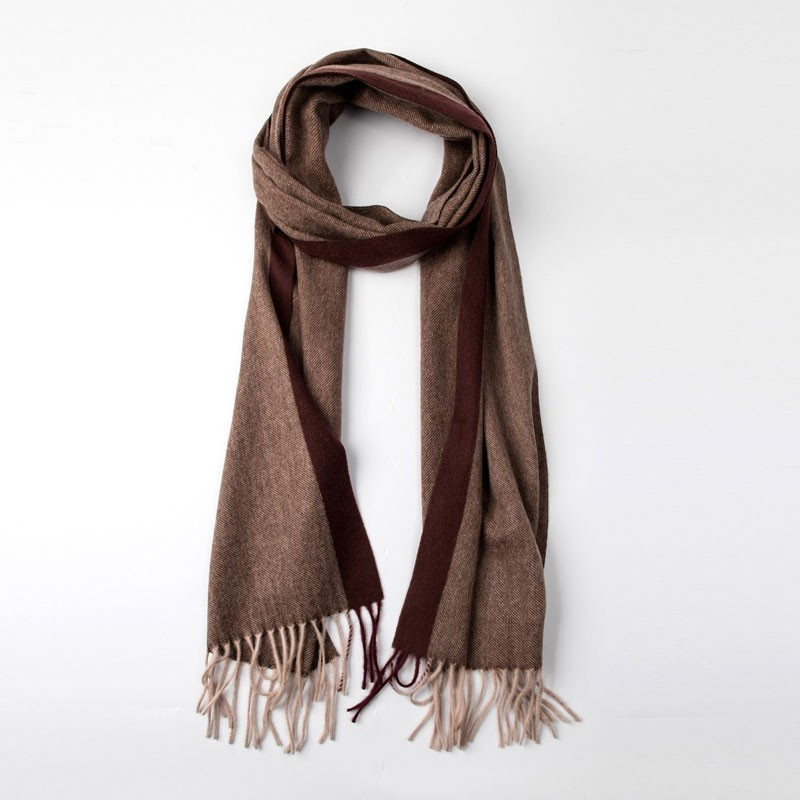 Soft Wool Womens Woven Scarf