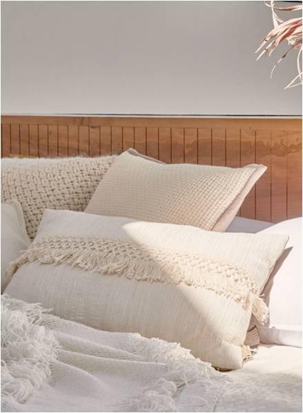 White color cushion
