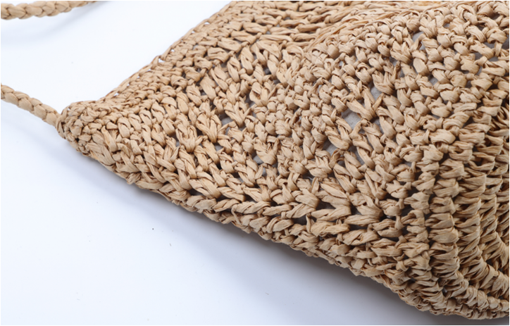 beach straw bag