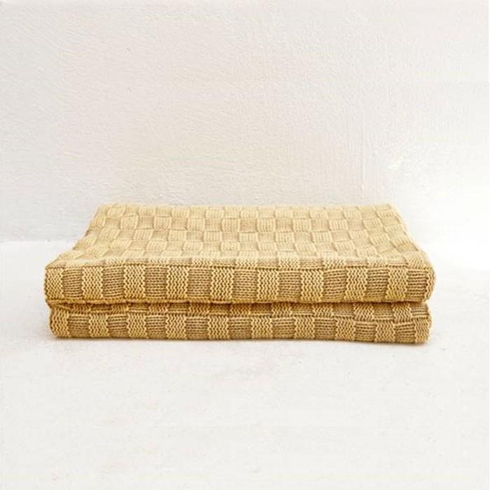 Pure Cotton Plaid Soft Throw Blanket