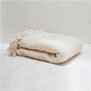 Curly Fleece Chunky Warm Throw Blanket