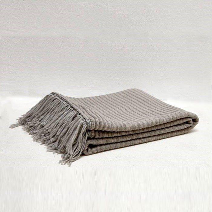 Cable Knitted Soft And Cozy Throw Blanket