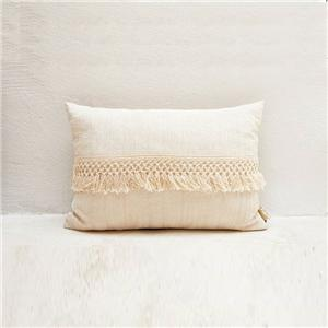 White Color Large Sofa Cushion