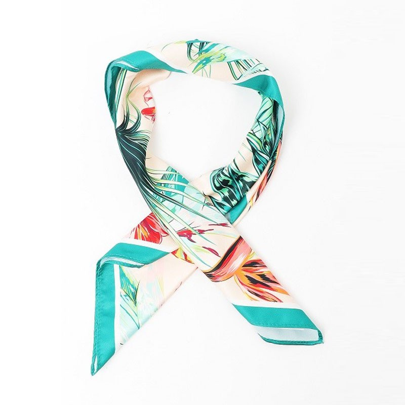 Warm Floral Women's Printed Scarf