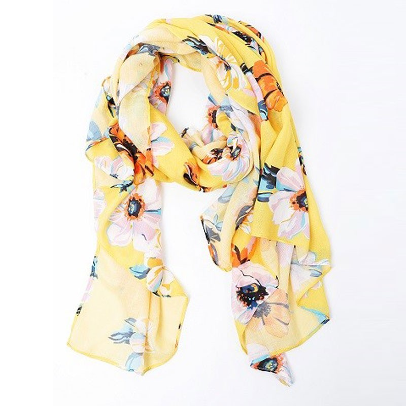 Fancy Floral Women's Printed Scarf