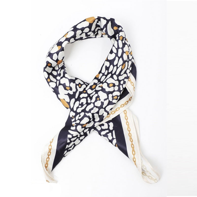 Leopard Soft Womens Printed Scarf