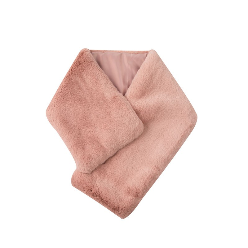Thick Large Faux Fur Scarf