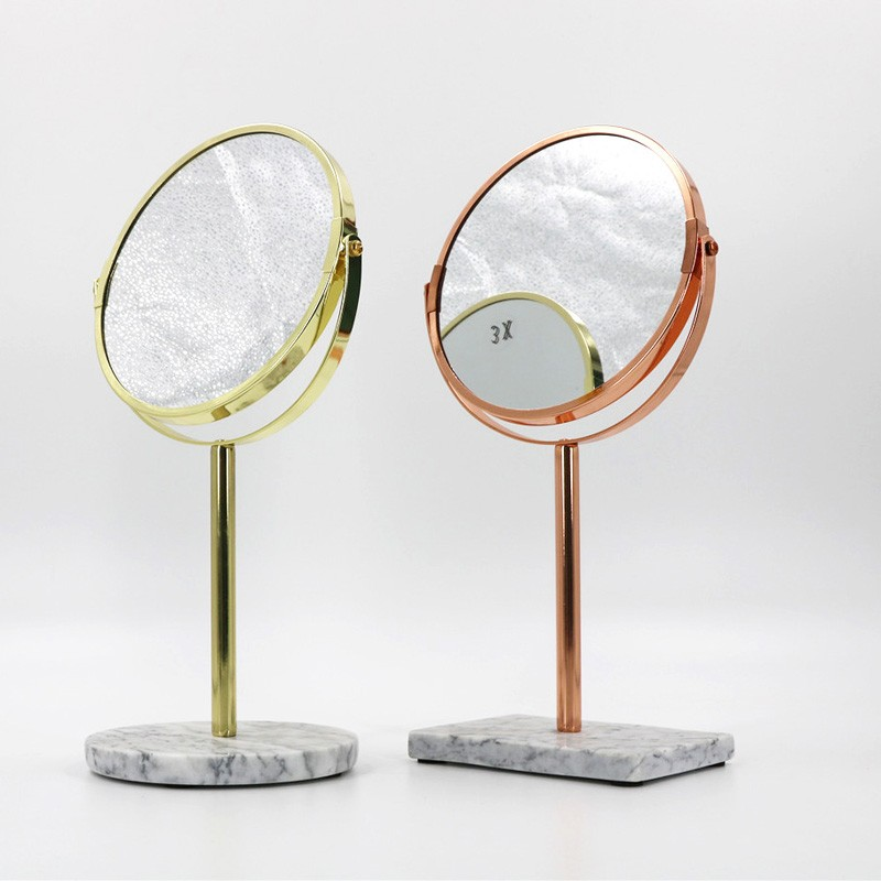 Cheap mirror by marble base price, double side mirror glass Factory