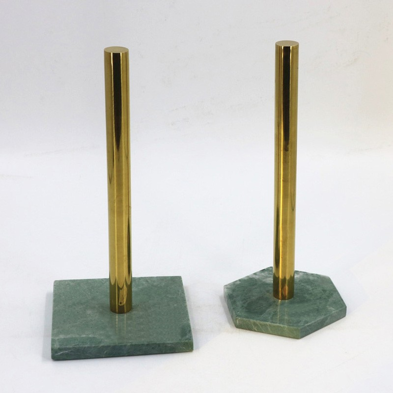 Paper Holder With Metal Handle