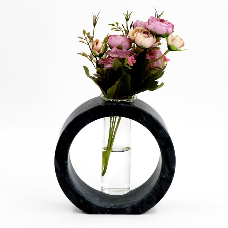 china Simple Household Stone Vase, Buy Beautiful home vase, garden marble vase, vase fer price