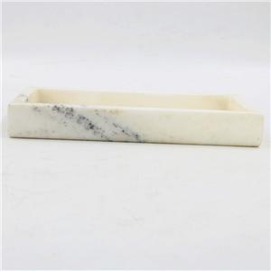 Rectangular Marble Cake Tray