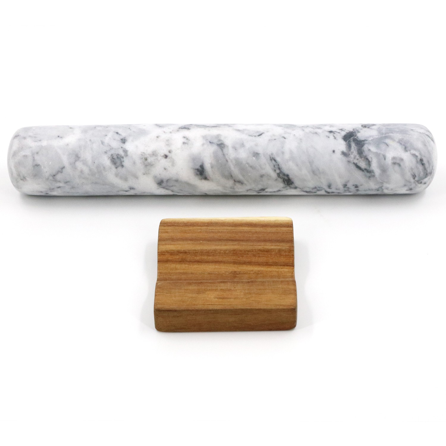 Wood Base Rolling Pin