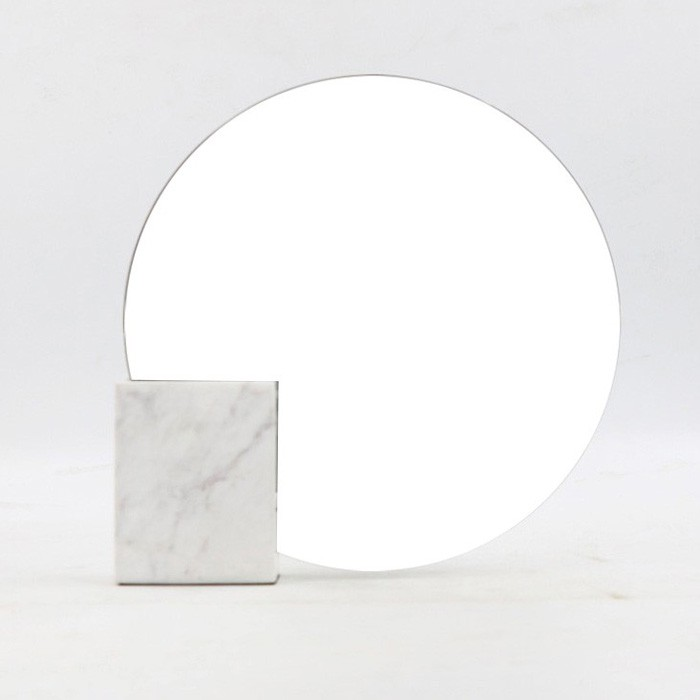 Household Marble Table Mirror