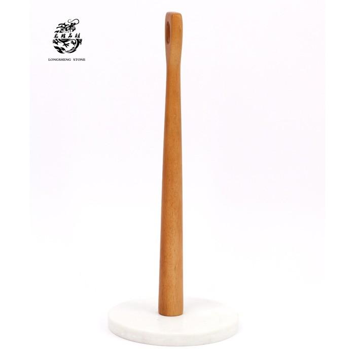 Paper Holder Genuine Marble Kitchen Accessories