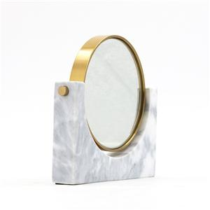 Marble Double-sided Makeup Mirror