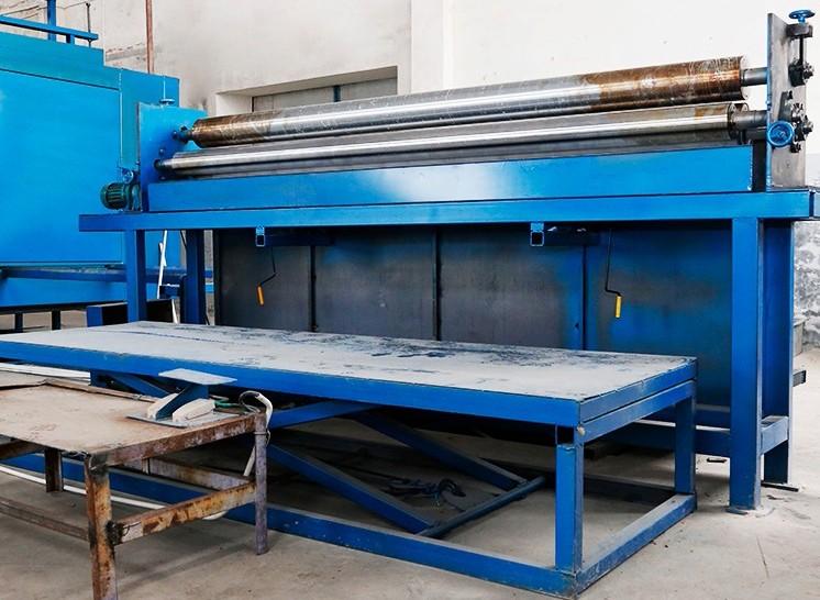 Selüloz Petek Buharlaşmalı Soğutma Pedi Üretim Hattı Makineleri