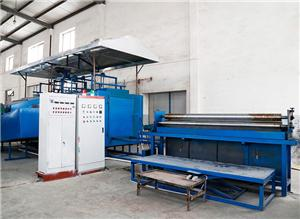 Heat Conduction Oil Cooling Pad Production Line