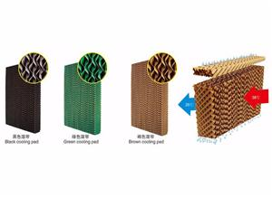 Cellulose Honeycomb Evaporative Cooling Pad Brown Kraft Paper Roll