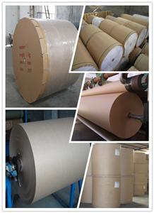 evaporative کے کولنگ پیڈ اور ائر کولر کے لئے KRAFT کاغذ