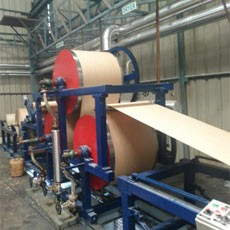 China newest cooling pad production line with phenol dipped kraft paper