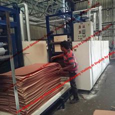 Cina manufaktur pendinginan lini produksi pad