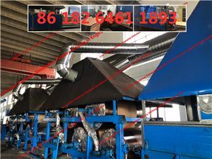 China terbaru barisan pengeluaran penyejukan pad dengan fenol dicelup kertas kraft