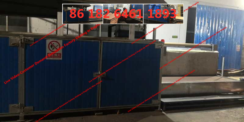 poultry cooling pad line