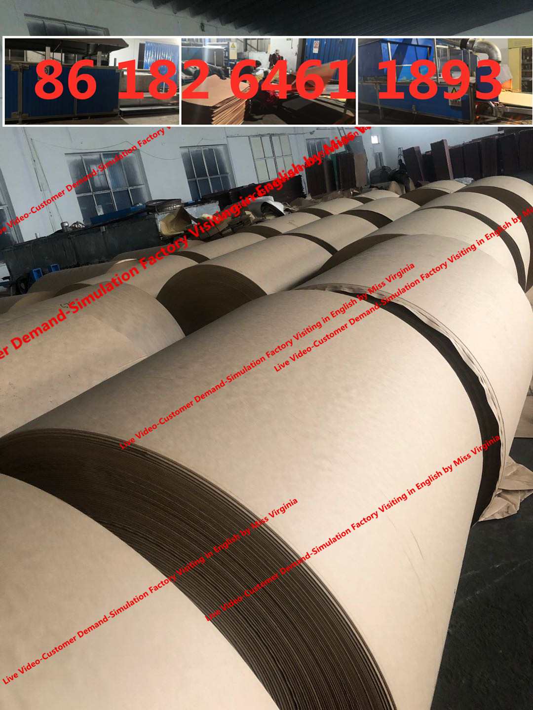 cooling pad production plant