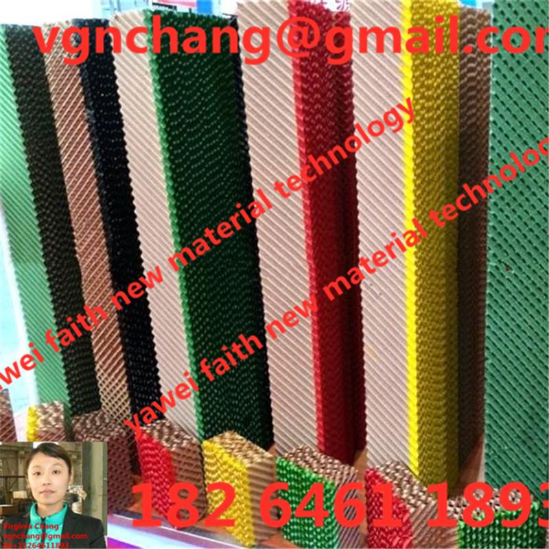 truyền thống làm mát động sản xuất pad của thị trường Trung Quốc