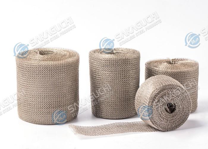 Grillage tricoté d'acier inoxydable