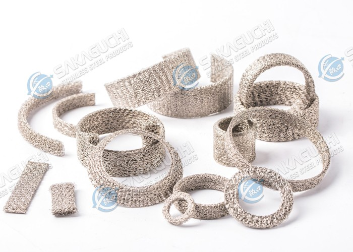 Stainless Steel Knitted Compressed Elements