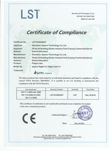 CE Certificate for Fidget Cube