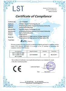 CE Certificate for Fidget Spinner