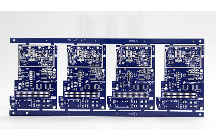 Round Immersion Silver PCB Board For LED