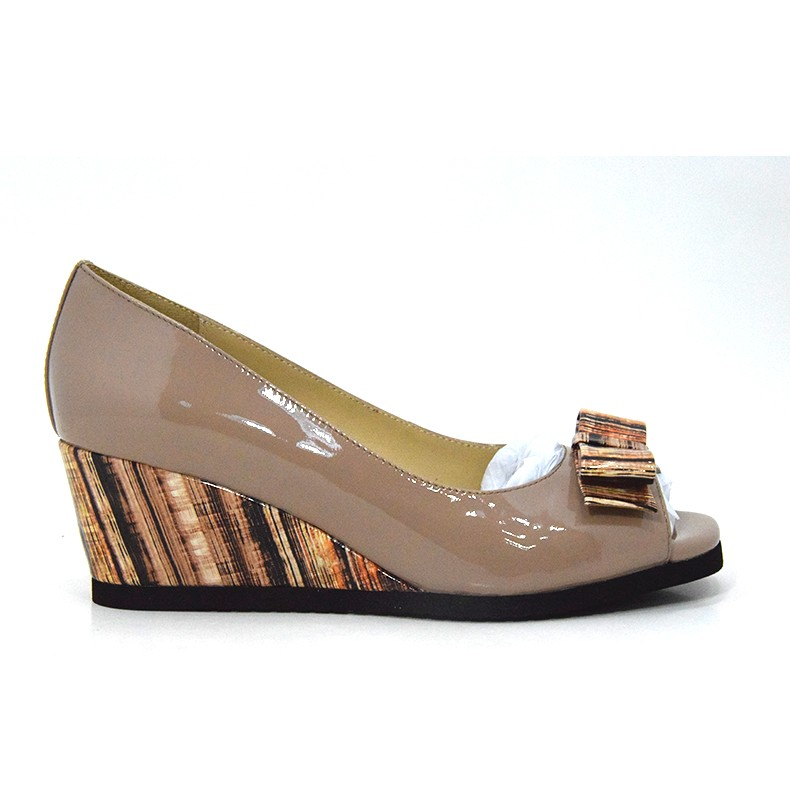 Leather Pump Women Shoes With Flat