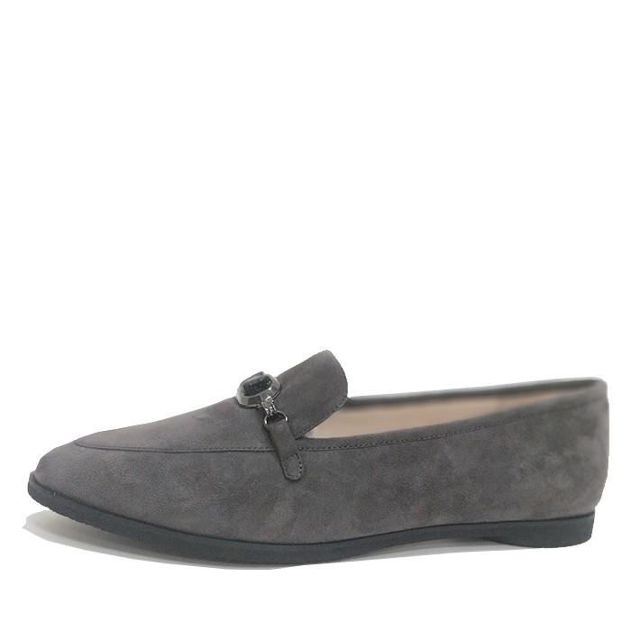 Γυναίκες Καστόρι Σεντ Ελαφρά παπούτσια Αιχμηρός Δάχτυλο του ποδιού επίπεδη δέρμα Ελαφρά παπούτσια