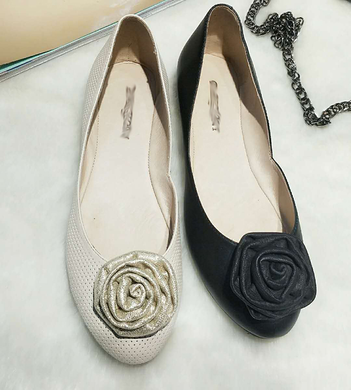 black loafer slippers